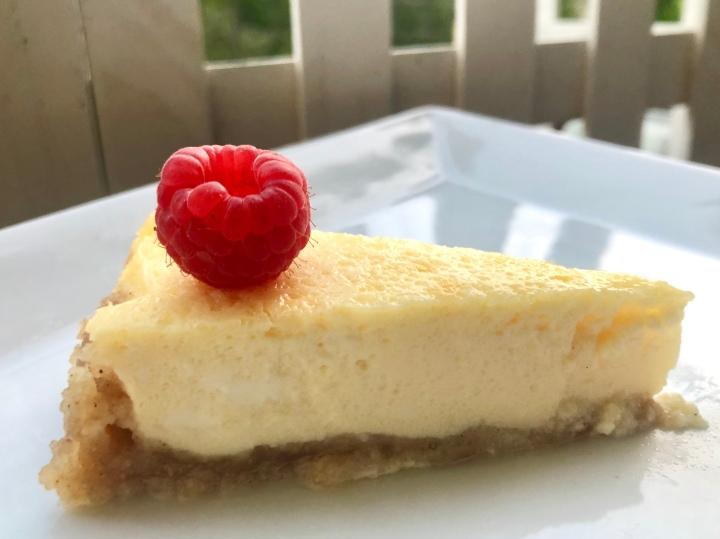 Cheesecake mit Boden(Keto)